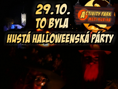 Hustá halloweenská party 2015